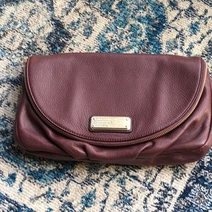 Marc Jacobs Oxblood Clutch